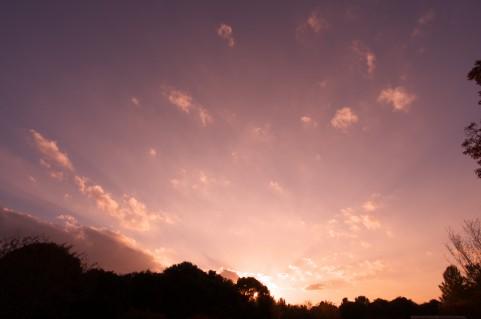 夕焼け空イメージ