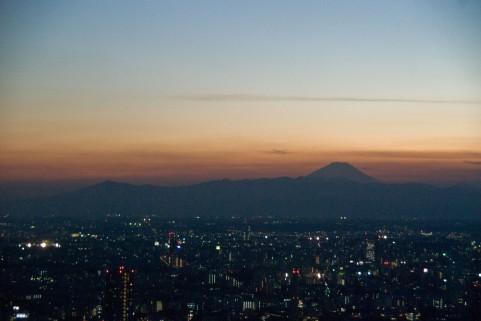 東京の夕日イメージ