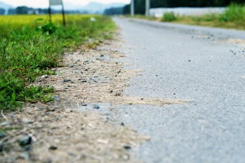 田舎道イメージ