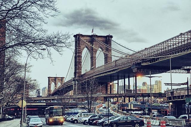ブルックリンの橋イメージ