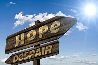 期待、希望イメージ