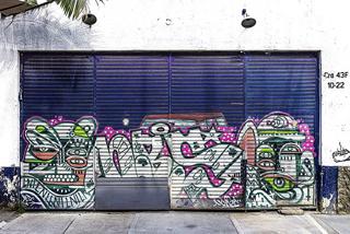 コロンビア壁アート