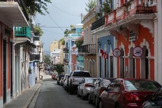 プエルトリコ街イメージ