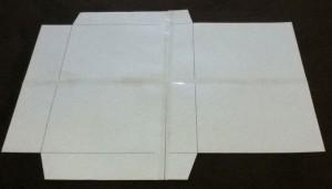 角3封筒型紙