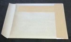 クラフト紙自作封筒作成