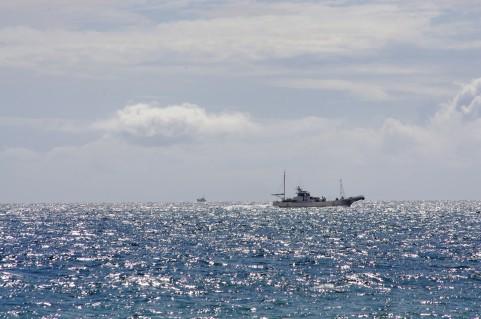 海、船イメージ