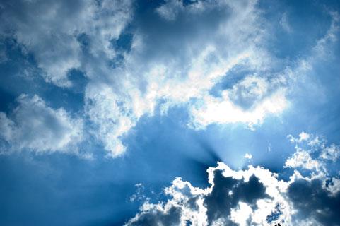 空と雲イメージ