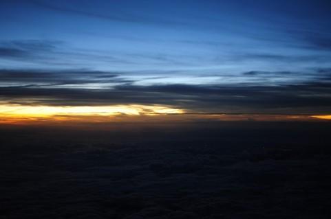 夕日イメージ
