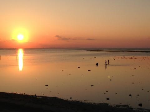 落日イメージ