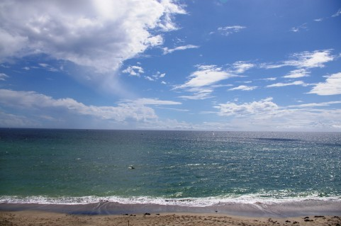 海と砂浜イメージ