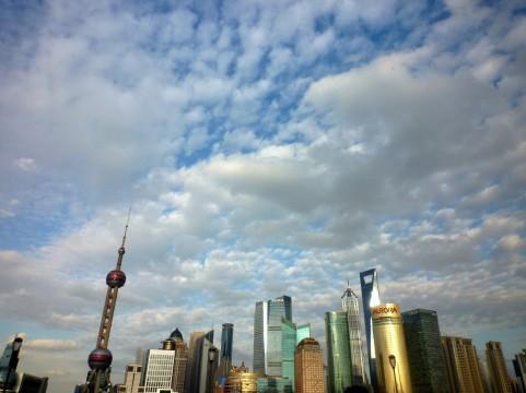 上海の空イメージ
