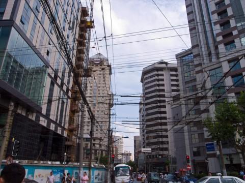 上海の町並みイメージ
