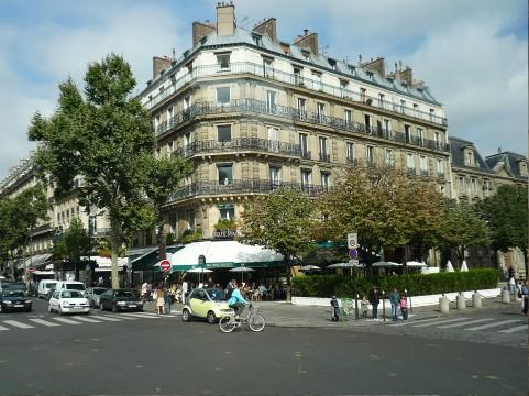 パリの街イメージ