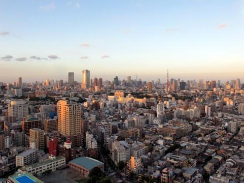 東京夕暮れイメージ