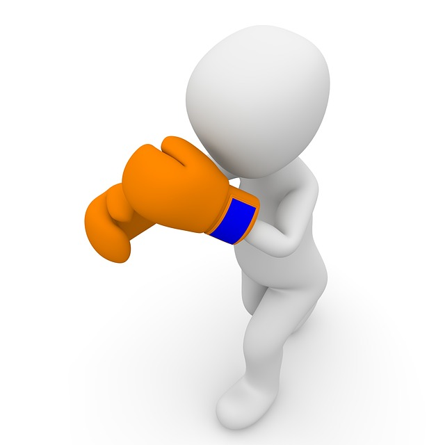 ボクシング攻撃イメージ