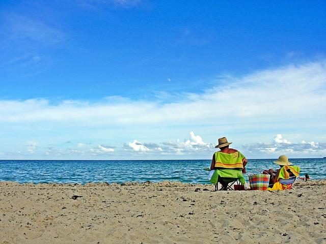 マイアミのビーチイメージ