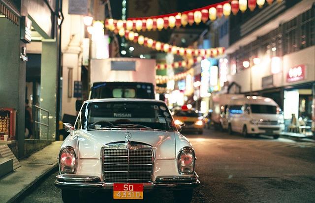 シンガポール、町の通り