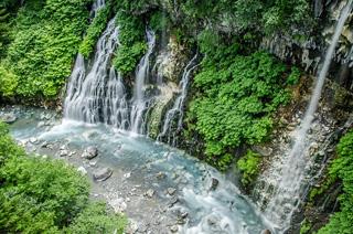 北海道滝イメージ