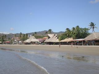 ニカラグアのビーチイメージ