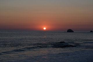 日没海イメージ