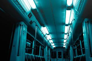 電車内モスクワ