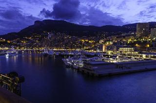 モナコ夜景