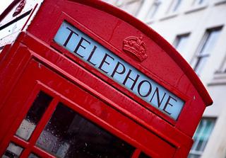電話ボックスロンドン