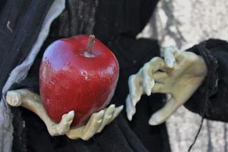 ハロウィーンリンゴ