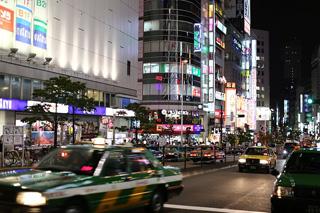 東京の夜イメージ