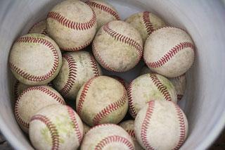 野球ボール縫い目