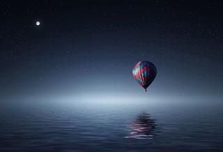 熱気球フライング