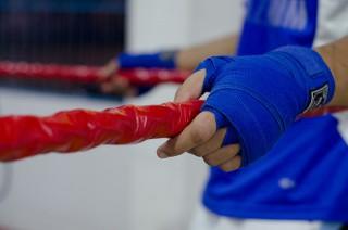 ボクシング左腕イメージ