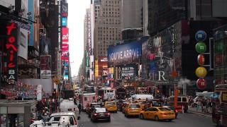 ニューヨーク渋滞イメージ