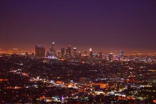 ロサンゼルス夜景イメージ