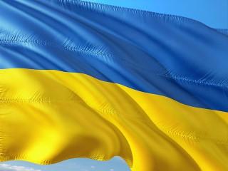 ウクライナ国旗イメージ