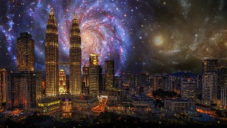 香港夜イメージ